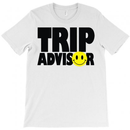 Trip Advisor T-shirt Designed By Mdk Art