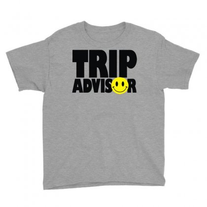 Trip Advisor Youth Tee Designed By Mdk Art