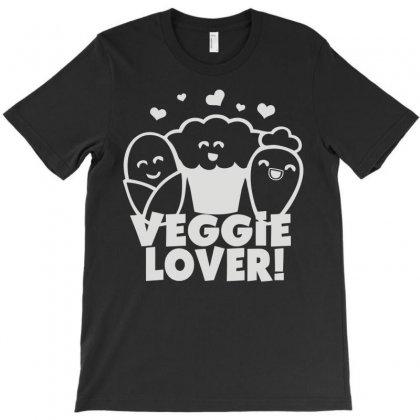 Vegetarian T-shirt Designed By Mdk Art
