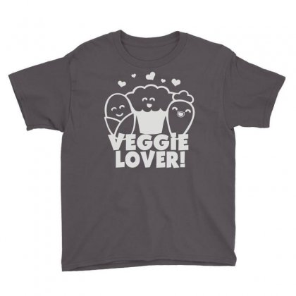 Vegetarian Youth Tee Designed By Mdk Art