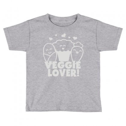 Vegetarian Toddler T-shirt Designed By Mdk Art
