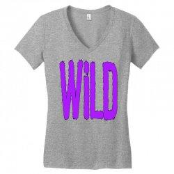 wild Women's V-Neck T-Shirt | Artistshot