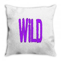 wild Throw Pillow | Artistshot