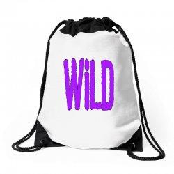 wild Drawstring Bags | Artistshot