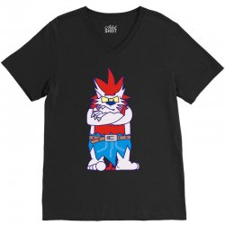 wild aztec monster V-Neck Tee | Artistshot