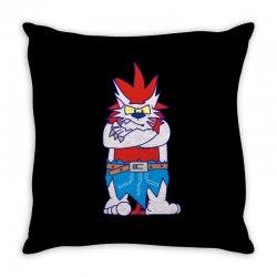 wild aztec monster Throw Pillow | Artistshot