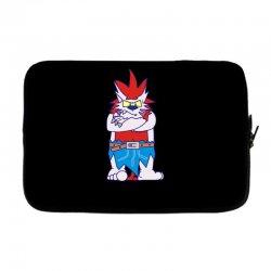 wild aztec monster Laptop sleeve | Artistshot