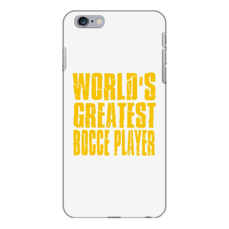 d8cce1e6 Custom World Greatest Bocce Iphone 6 Plus/6s Plus Case By Mdk Art -  Artistshot