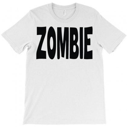 Zombie T-shirt Designed By Mdk Art