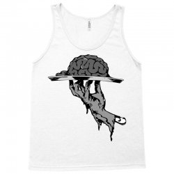 zombie eating brains Tank Top | Artistshot