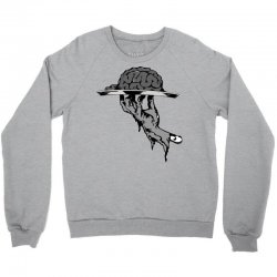 zombie eating brains Crewneck Sweatshirt | Artistshot
