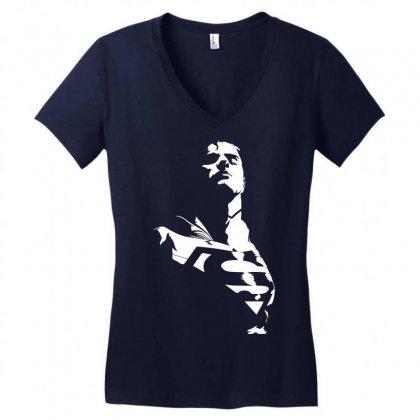 Super Women's V-neck T-shirt Designed By Sbm052017