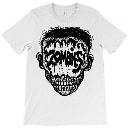 Zombie T-shirt Designed By Sbm052017