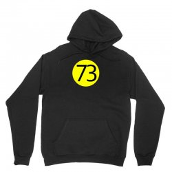 73 the perfect number t shirt the big bang theory cool funny Unisex Hoodie | Artistshot