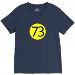 73 the perfect number t shirt the big bang theory cool funny V-Neck Tee | Artistshot