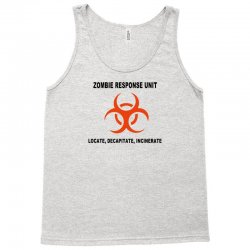zombie response unit t shirt funny dead brains s 3xl Tank Top | Artistshot