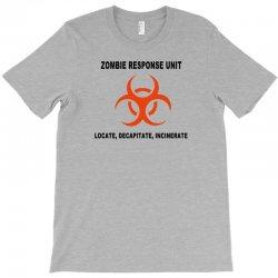zombie response unit t shirt funny dead brains s 3xl T-Shirt | Artistshot