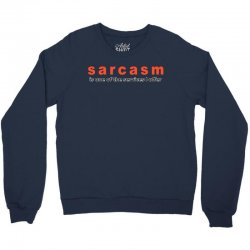 funny t shirt sarcasm is one of the services i offer rude tee offensiv Crewneck Sweatshirt | Artistshot