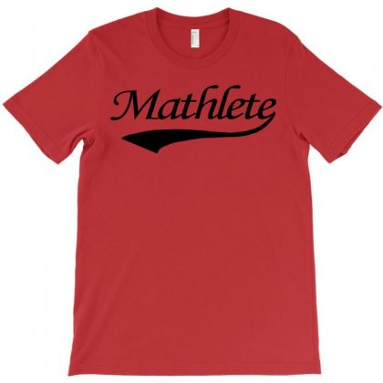 Mathlete T Shirt Funny Math Humor Geek Nerd School Athlete Tee S M L X T-shirt Designed By Mdk Art