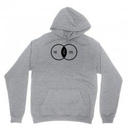 music elitism venn diagram musician indie snob rock geek shirt t shirt Unisex Hoodie | Artistshot