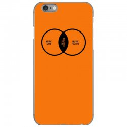 music elitism venn diagram musician indie snob rock geek shirt t shirt iPhone 6/6s Case | Artistshot