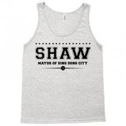 Travis Shaw, Mayor of Ding Dong City Tank Top | Artistshot