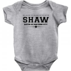 Travis Shaw, Mayor of Ding Dong City Baby Bodysuit | Artistshot