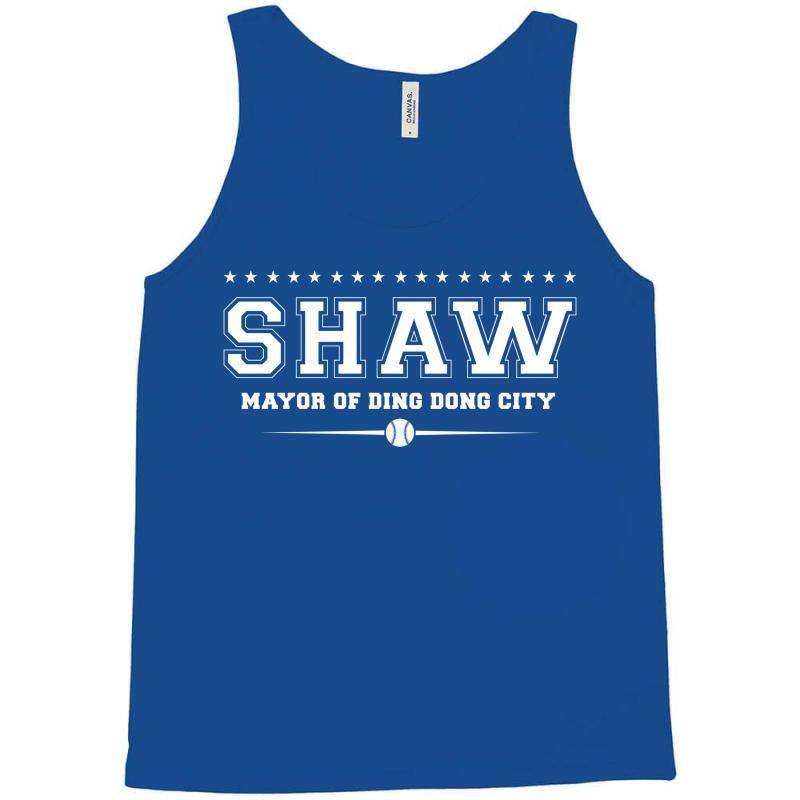 Travis Shaw, Mayor Of Ding Dong City Tank Top | Artistshot