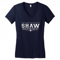 Travis Shaw, Mayor of Ding Dong City Women's V-Neck T-Shirt | Artistshot