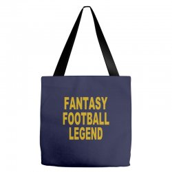 fantasy football legend sunday night football sports league tee shirt Tote Bags | Artistshot