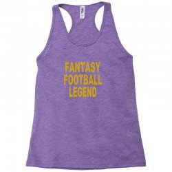 fantasy football legend sunday night football sports league tee shirt Racerback Tank | Artistshot