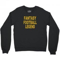 fantasy football legend sunday night football sports league tee shirt Crewneck Sweatshirt | Artistshot