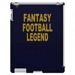 fantasy football legend sunday night football sports league tee shirt iPad 3 and 4 Case | Artistshot