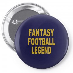 fantasy football legend sunday night football sports league tee shirt Pin-back button | Artistshot