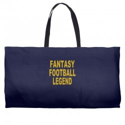 fantasy football legend sunday night football sports league tee shirt Weekender Totes | Artistshot