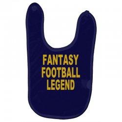 fantasy football legend sunday night football sports league tee shirt Baby Bibs | Artistshot