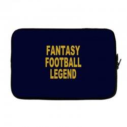 fantasy football legend sunday night football sports league tee shirt Laptop sleeve | Artistshot