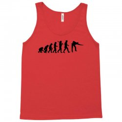 evolution of snooker or pool ape to player mens black new t shirt top Tank Top | Artistshot