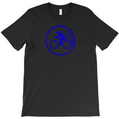 Fast Speed Bicycle Bike Biking Sport Athlete Geek Gift Idea Tee Shirt T-shirt Designed By Mdk Art