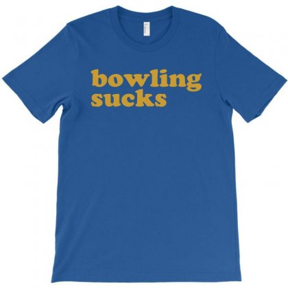 Bowling Sucks Bowl Team League Club Funny Geek Nerd Sport Pin Tee Shir T-shirt Designed By Mdk Art