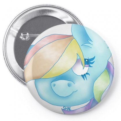 Dashie Pin-back Button Designed By Shaemustdie