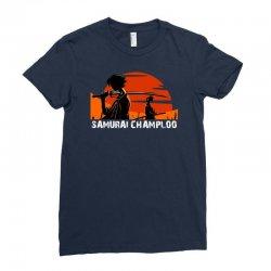 samurai champloo japanese anime manga Ladies Fitted T-Shirt | Artistshot