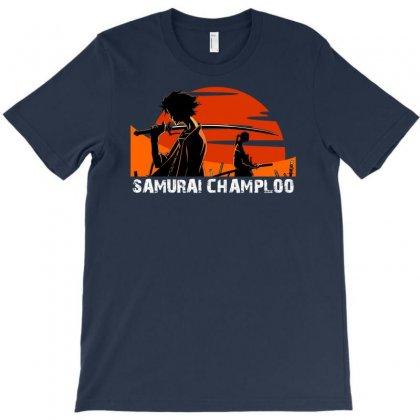 Samurai Champloo Japanese Anime Manga T-shirt Designed By Mdk Art