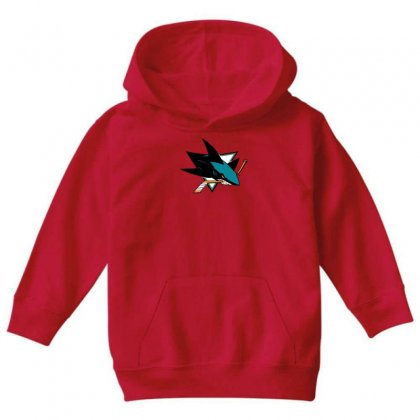 Jose Sharks Youth Youth Hoodie