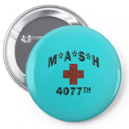 Mash 4077th Tv Division Vintage Style Pin-back Button Designed By Mdk Art