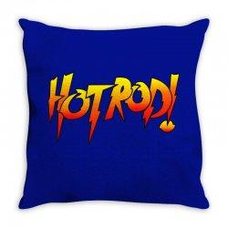 rowdy roddy piper hot rod vintage Throw Pillow | Artistshot
