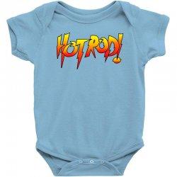 rowdy roddy piper hot rod vintage Baby Bodysuit | Artistshot