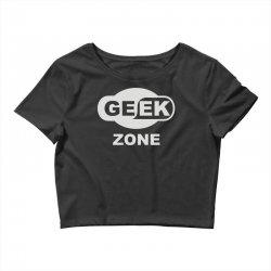 geek zone Crop Top | Artistshot