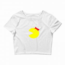 Mrs. Pacman Crop Top | Artistshot