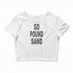go pound sang Crop Top | Artistshot